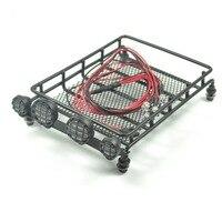 Crawler Luggage Tray Set S For Tamiya CC01 Pajero Jeep Led