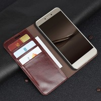 For Huawei Honor 8 Lite Case Luxury Wallet Mobile Bag Leather Flip Phone Cases Coque For
