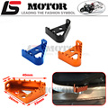 FREE SHIPPING BILLET KTM REAR BRAKE PEDAL STEP TIPS 125-530 690 950 990 SX EXC XCF ADVENTURE DUKE