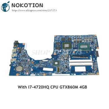 NOKOTION For Acer aspire VN7-791 Laptop motherboard NBMTH11003 448.02G08.001M MAIN BOARD I7-4720HQ CPU GTX860M 4GB