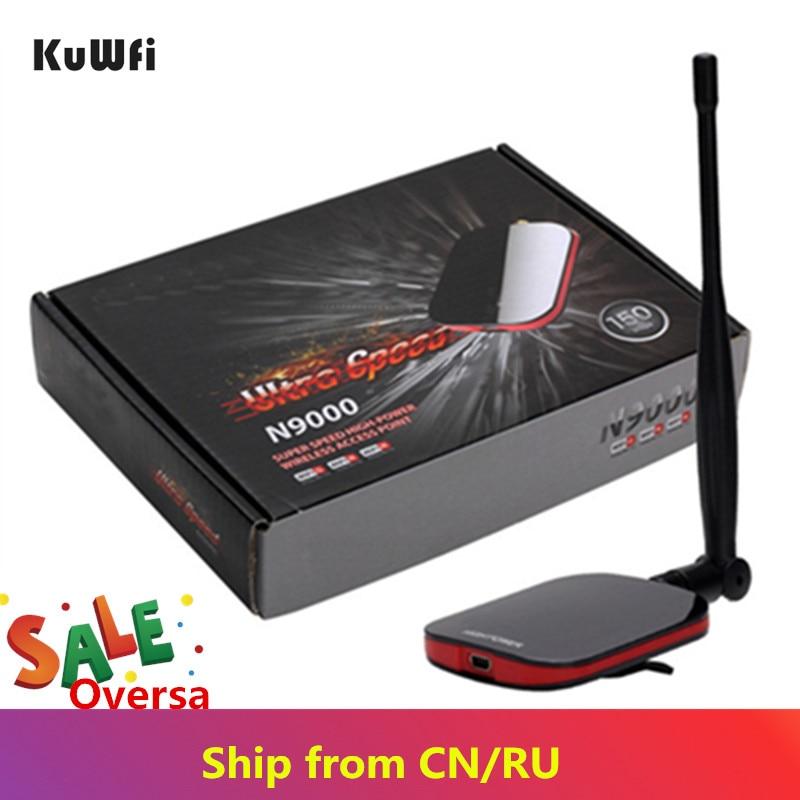N9000 Wireless Wifi Adapter Network Card Free Internet Long Range Wifi AntennaUSB Adapter 150Mbps Wifi Decoder With 5dBi Antenna