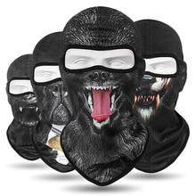 New Balaclava Animal Motorcycle Mask Tactical Face Shield Breathable Biker Moto Helmet Skull