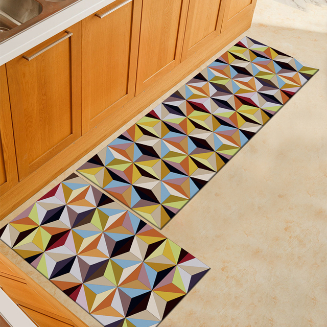 Non slip Cushion Door Mat Kitchen Rugs Bathroom Bathroom Floor Mat ...