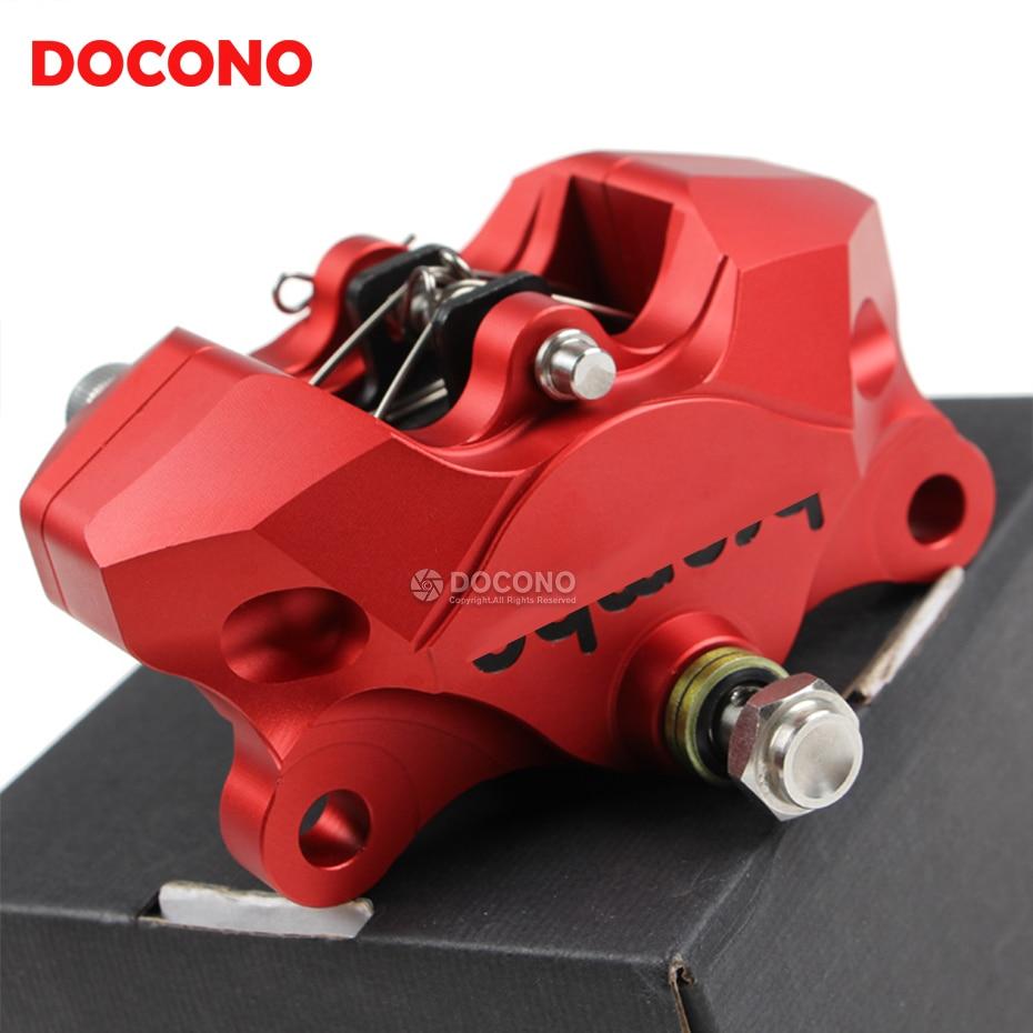 Motorcycle CNC Aluminium 2 piston brake pump caliper For honda cb400 cb600 shadow dio hornet cbr 1000 rr crf 450 CB 599 919 400 куплю б у пластик на honda dio af 34