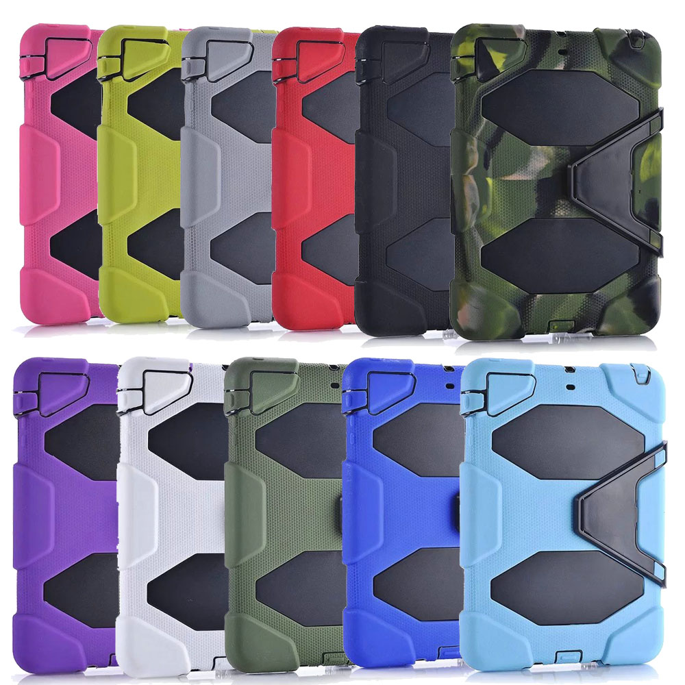 30pcs lot For New iPad 2017 2018 Heavy Duty Waterproof Shockproof Case with Touch Screen For