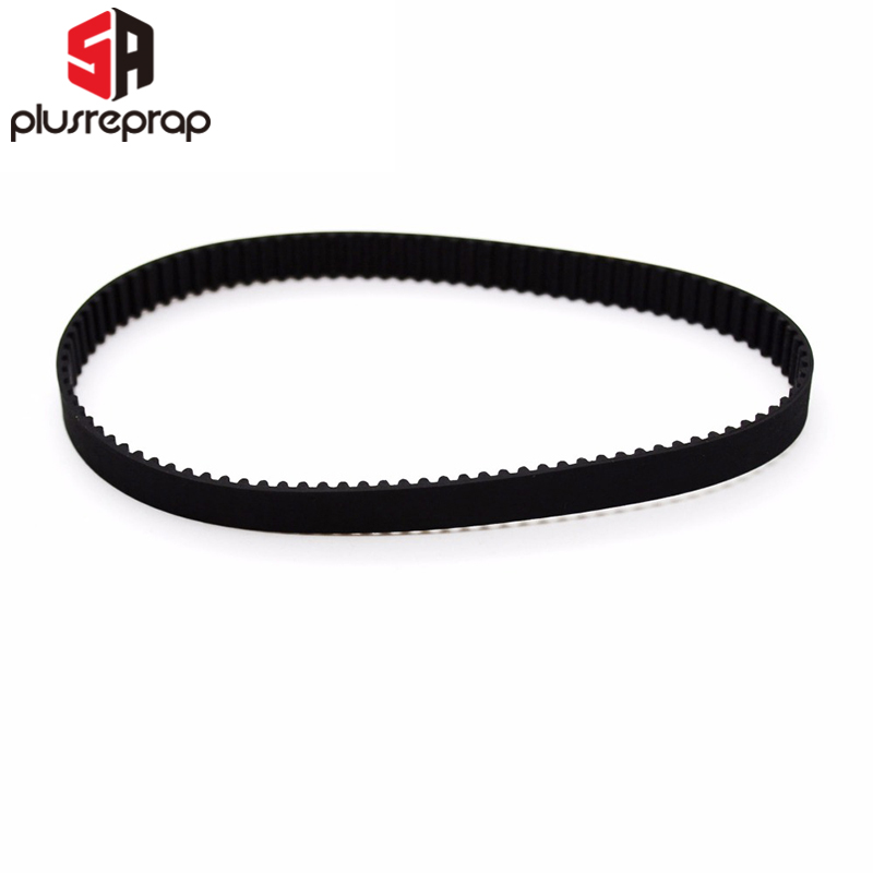 2pcs/lot Closed Timing Belt Loop Rubber GT2 Timing Belt 200-2GT-6 Length 200mm Width 6mm Teeth 100 3D Printer