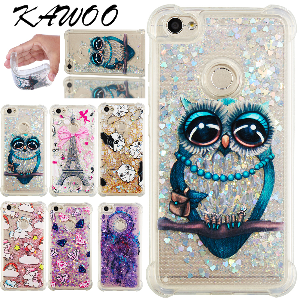 Buy Redmi Note 5a Shockproof Case Gliter Bling Xiaomi 4a Softcase Clear Soft Cover For Shiny Print Capa From