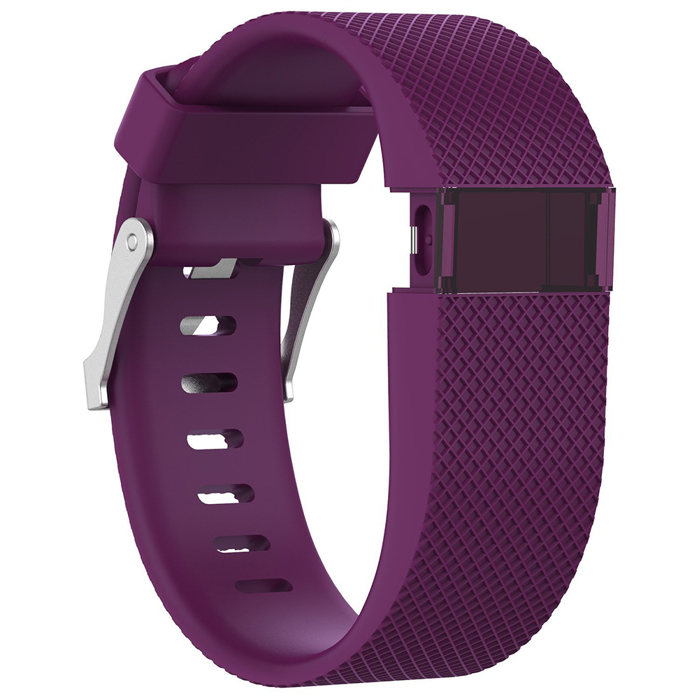 Silicone Watch Strap For Fitbit Charge HR Replacement Watchband for Fitbit Charge HR Activity Tracker Metal Buckle Wrist Bands in Watchbands from Watches