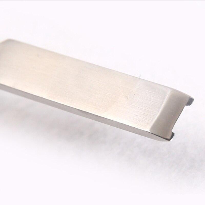 Mango de aleaci/ón de aluminio con borde de cuero Herramienta de artesan/ía de cuero de acero inoxidable Accesorios de herramienta de esqu/í para el hogar #1