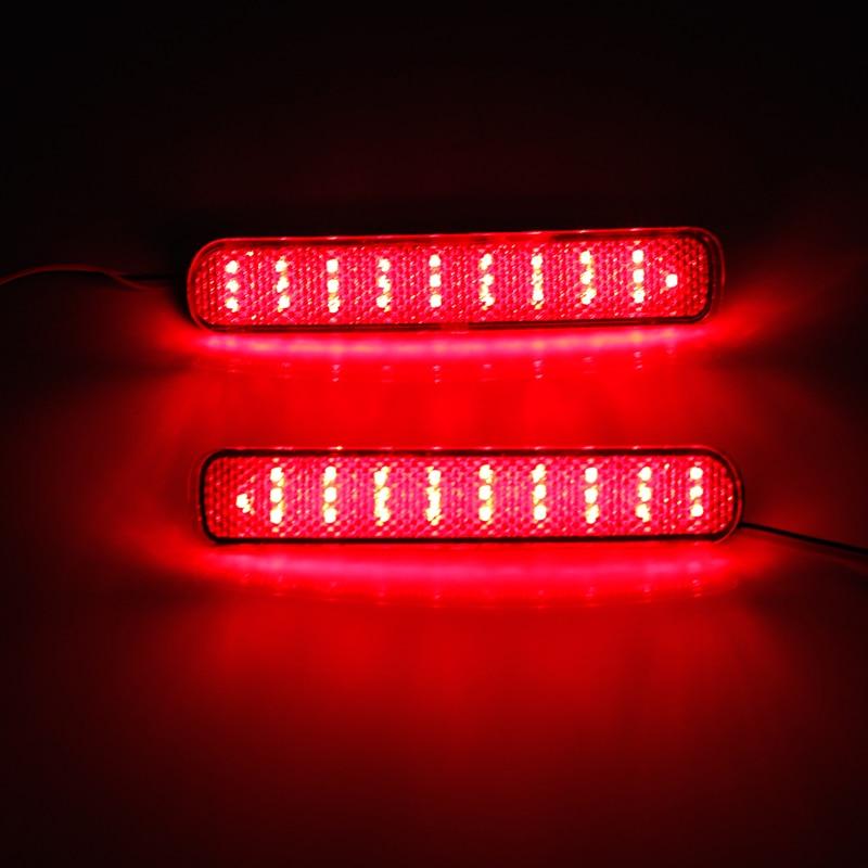 Ownsun nouveau feu de frein de pare-chocs de feu arrière de réflecteur de LED pour Toyota Highlander 2012-2013