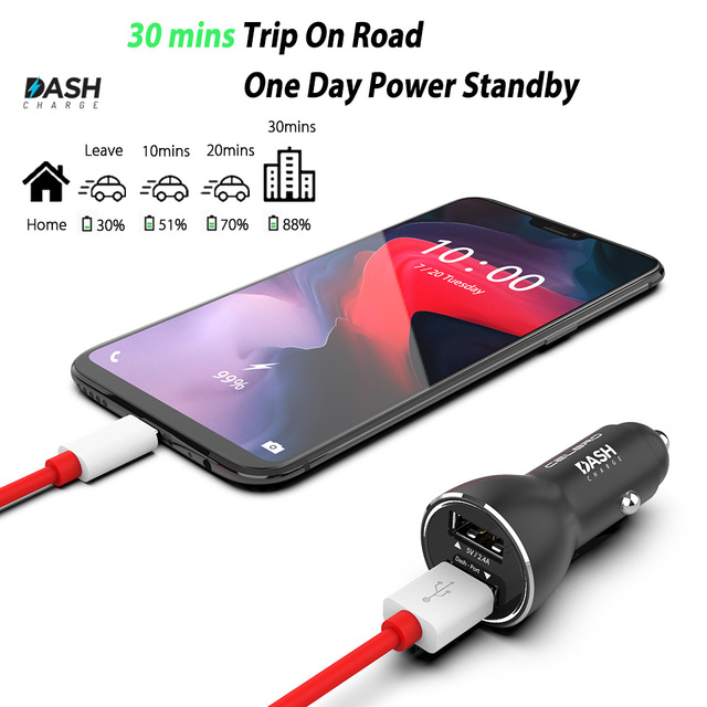 Best Promo #90gaw - Dash Charge Metal Car Charger Dual USB for ...