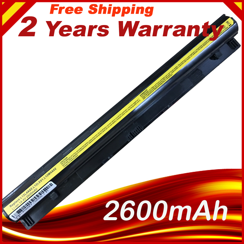 Laptop Battery L12L4A02 L12L4E01 L12M4A02 L12M4E01 L12S4A02 L12S4E01 For Lenovo G400s Series G405s G410s G500s
