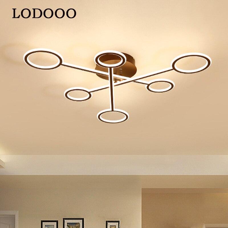 Led Chandelier Lighting Lustre Modern Lamp Aluminium Hanging Light Living Room Bedroom Kitchen Bar Restaurant Ceiling Chandelier