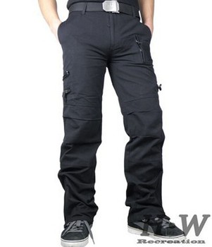 Outdoor clothing men's trousers trousers paratroopers multi-pocket trousers assault overalls