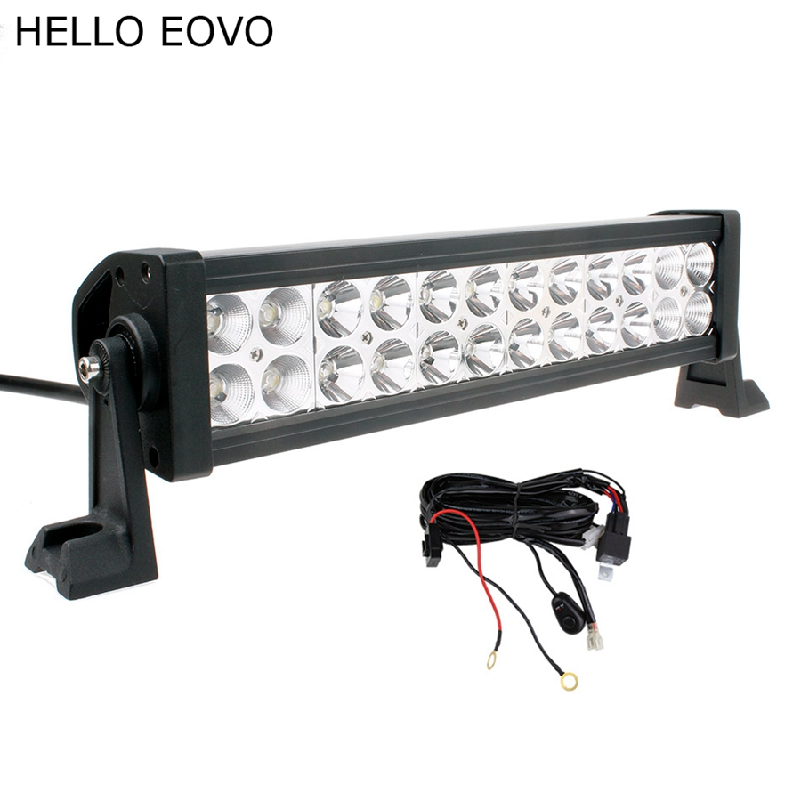 hello eovo 12 inch 72w led light bar switch wiring kit. Black Bedroom Furniture Sets. Home Design Ideas