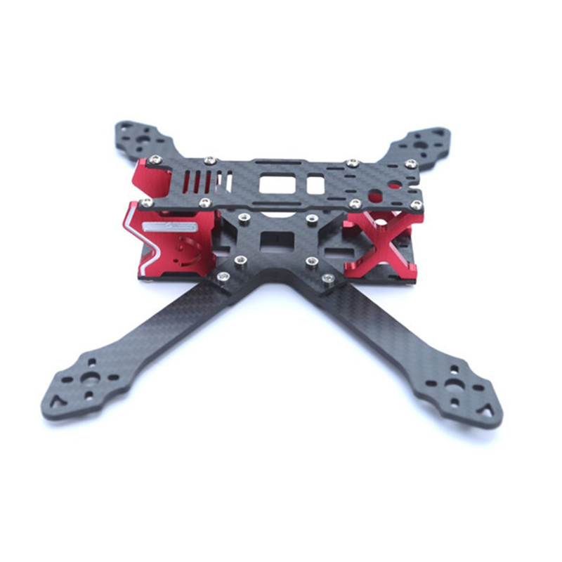 XH210 210mm Carbon Fiber 3.5mm Arm Frame Kit for Racing Racer RC Drone FPV Quadcopter Aircraft DIY Frame Toys Shell Spare Parts 2pcs eachine falcon 250 carbon fiber arm motor mount spare parts for mini drone quadcopter rc helicopter multicopter part