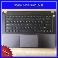 Laptop Palmrest Upper cover English keyboard For DELL Vostro V5460 5470 5480 5439 bottom base cover lower cover C/D Shell
