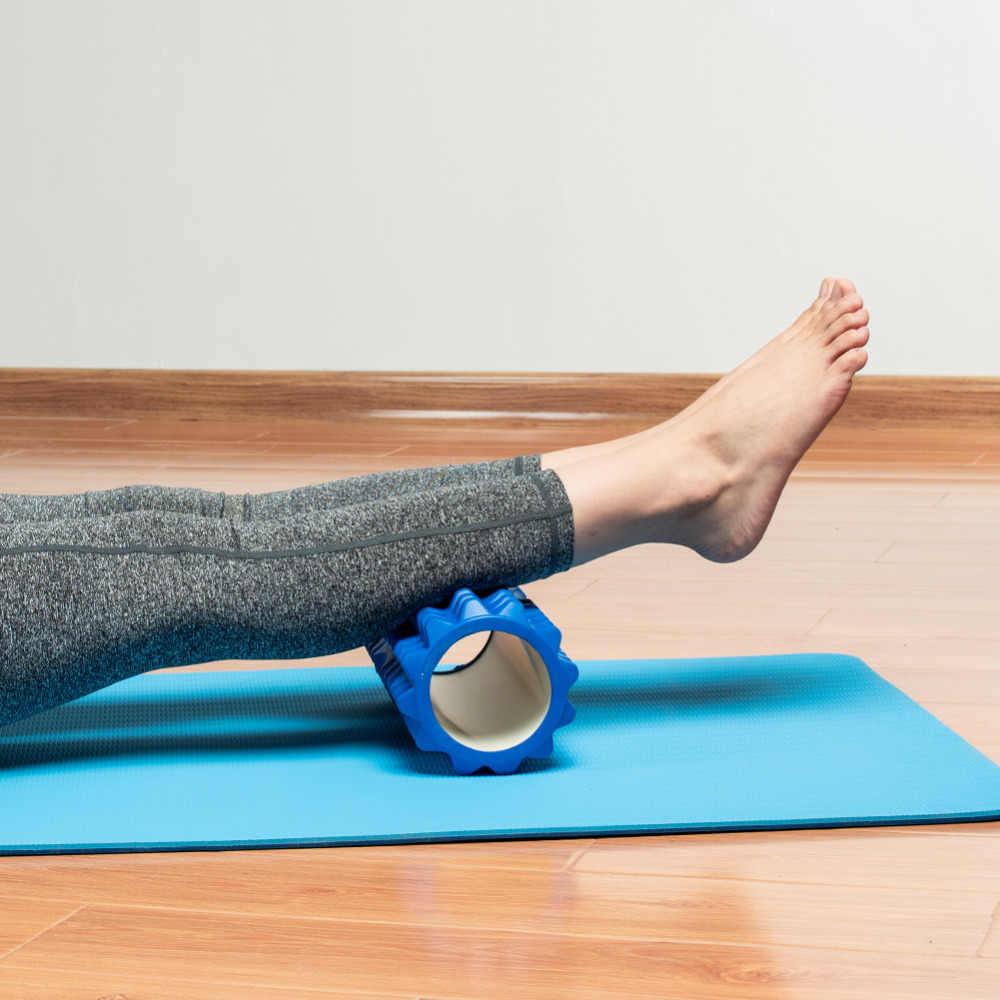 Yoga Kolom Schuim Yoga Pilates Fitness Foam Roller Sport Trein Gym Massage Oefening Ontspannen Foam Rollen Massage Bal Spiky