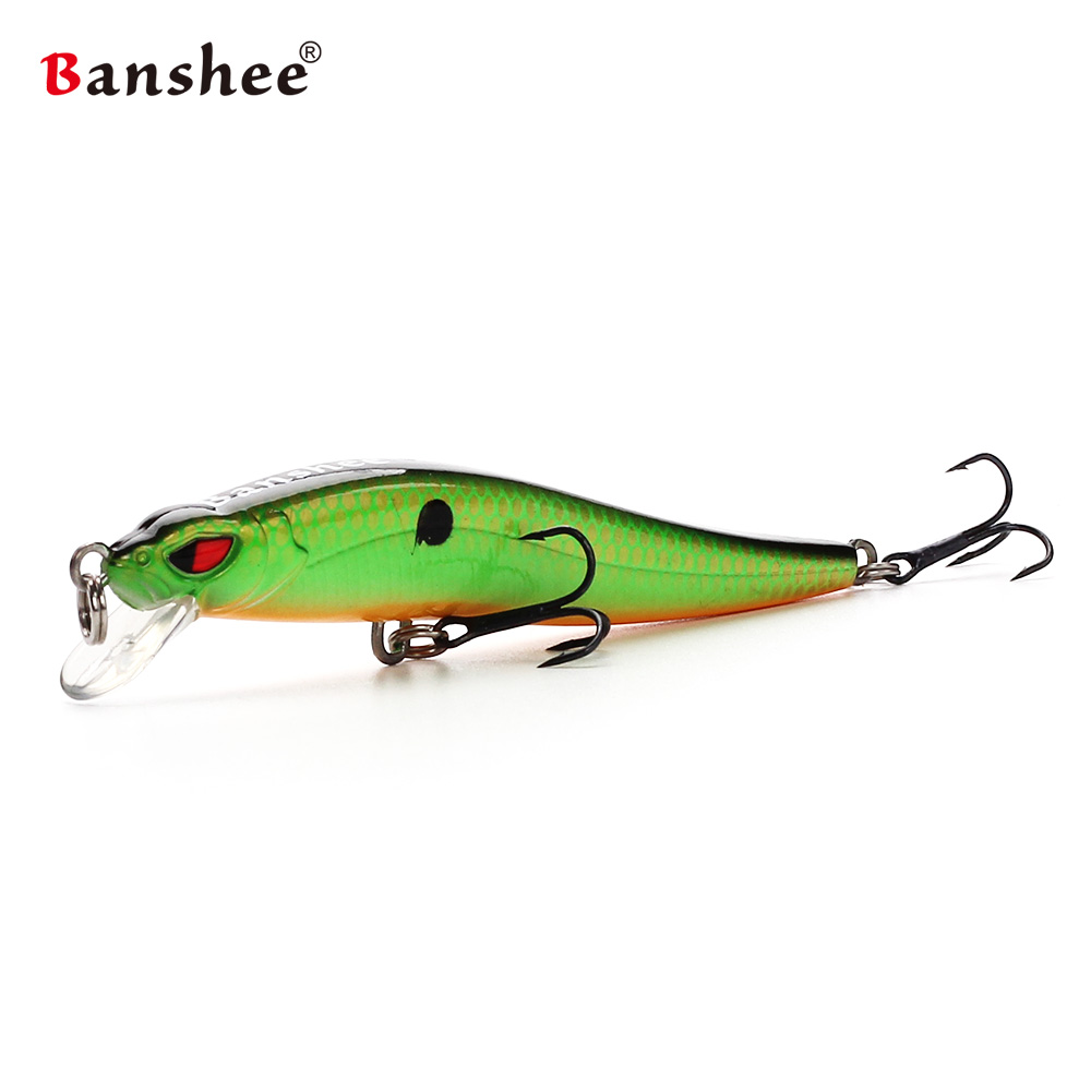 COLORIS NATURAL MINNOW LEURRES POWER TAIL FIIISH TAILLE 30 ACTION SLOW