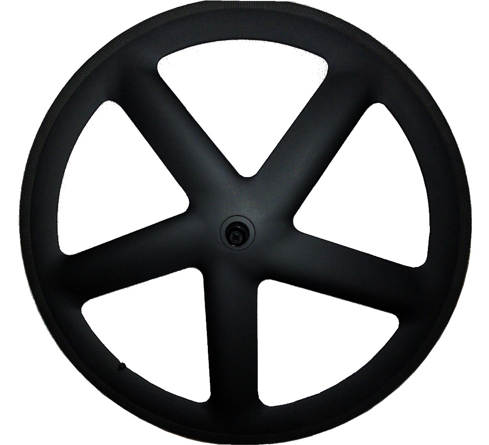700C 25 мм ширина 5 спицы довод/трубчатые колеса углерода пять говорил 65 мм глубина для трека /велосипеды углеродного колесная