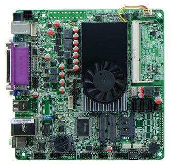 1037U / DC 12V /Dual 24bits LVDS/ POS Industrial Motherboards/ ATM Motherboards/ Mini ITX Industrial Motherboards 6COM