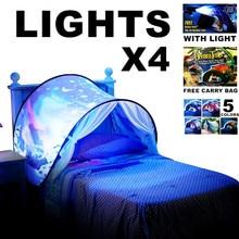 Christmas Birthday Best Gift For Kids Children Dream Tents With 4 Light Twin Size Children Kid Winter Wonderland Magic Forest