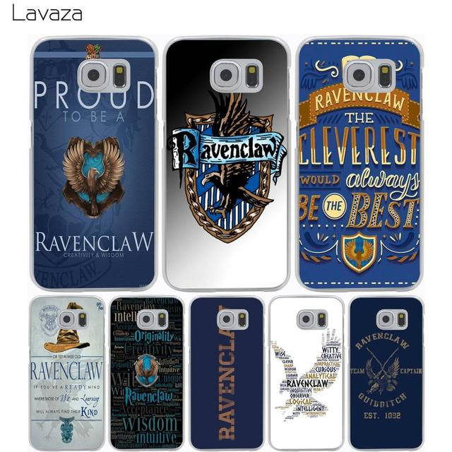 size 40 51b90 00b7c Lavaza Harry potter Ravenclaw Case for Samsung Galaxy S9 S8 S7 S6 S5 ...