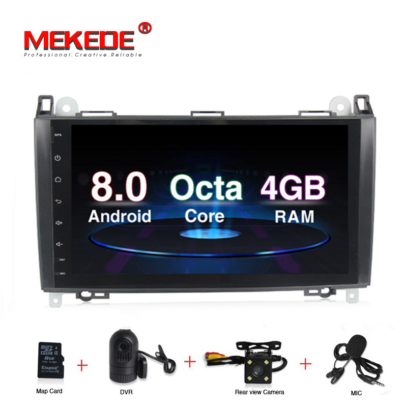 Free shipping! Android 8.0 Car multimedia player For Mercedes Benz Sprinter B200 B class W245 B170 W209 W169 Vito GPS Navigation-in Car Multimedia Player from Automobiles & Motorcycles