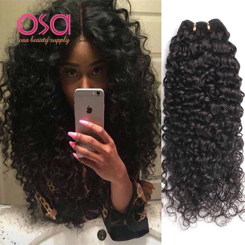 Good Cheap Brazilian Virgin Hair Tight Curly Weave Deep Curly Wet