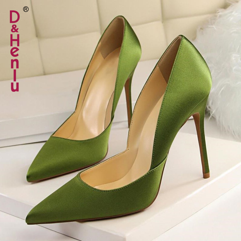 ade1364ae75 Detail Feedback Questions about  D Henlu  Women Shoes High Heel Womens Red Shoes  Women For Wedding Ladies Shoe With Heels Party High Heels Pointed Toe Pumps  ...