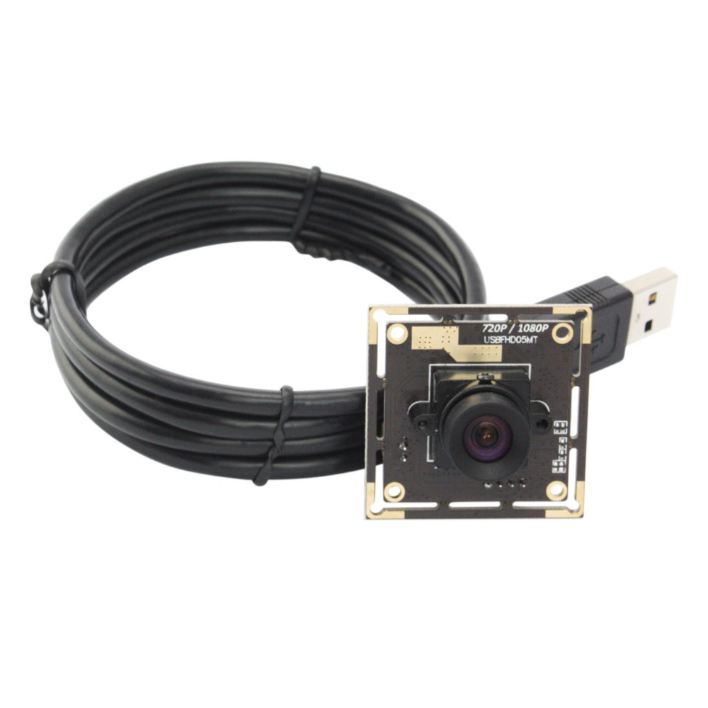 1080P High Speed No distortion Lens 2MP Full HD Mini USB 2.0 Camera Module For Android,Linux ,Windows,MAC OS