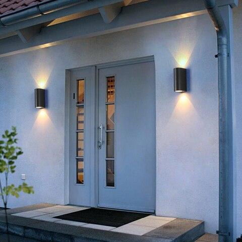luminarias de parede externas