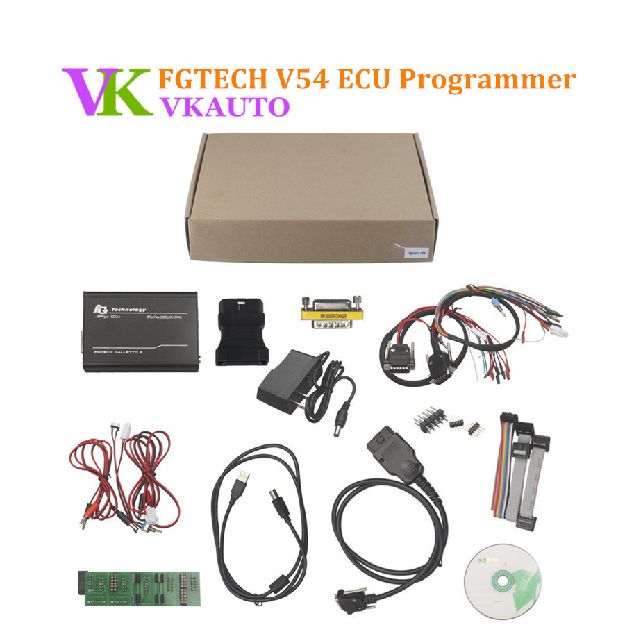 FGTECH V54 Galleto 4 Master BDM OBD fonction multi-langue Fgtech V54 programmeur ECU