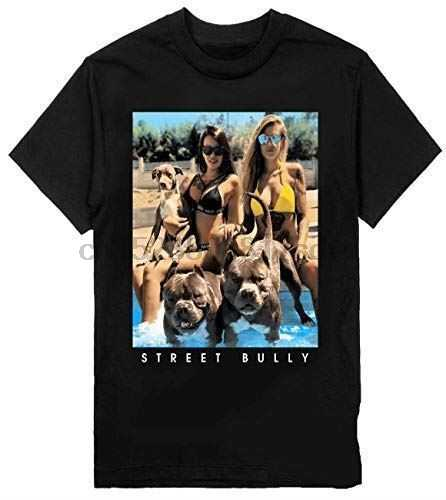 Мужская футболка Bully с принтом собак на шаке одежда тяжелая Новая модная мужская