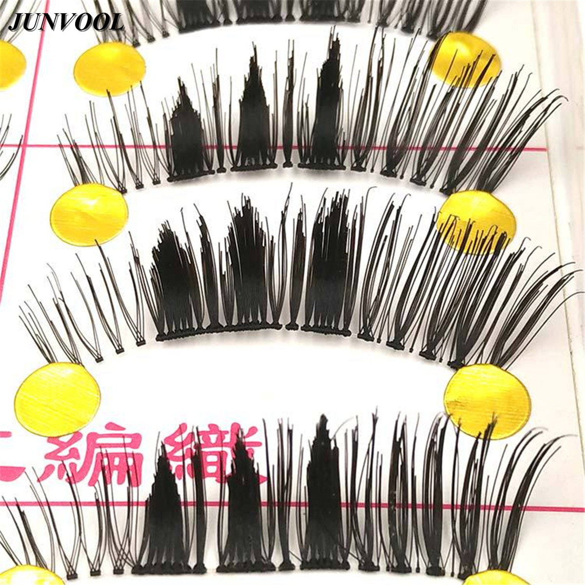 Pretty Thick False Eyelashes 10 Pairs Pro Women Eyelash Lady Natural Fake Long Eye Lashes Extention Makeup Tools