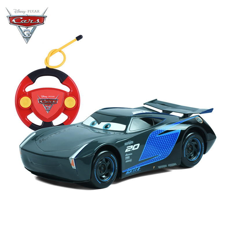 Disney Cars 3 RC Carros Remote Control Storm Jackson Cars 3 for Boys Children Licensed Good Quality