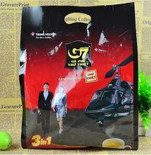 Кафе, растворимый кофе, мешок, зеленого потери вьетнам аутентичные веса ( )