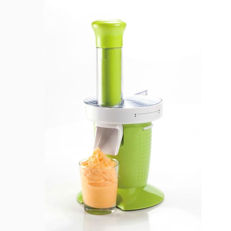 Household Fruit Ice Cream Maker Automatic Self cold Electric Small Soft Icecream Making Machine Frozen Milkshake Dessert EU