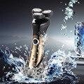 Мужская Большой Мощности 3D Моющийся Аккумуляторная Электробритва Электробритвы для Мужчин Бритва Barbeador Rasoir Electrique # BSEL