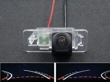 цена на Trajectory Tracks 1080P Fisheye Car Rear view Camera for BMW X3 X5 X6 E53 E70 E71 E72 E83 E38 E39 E46 E60 E61 E65 E66 E90 E91
