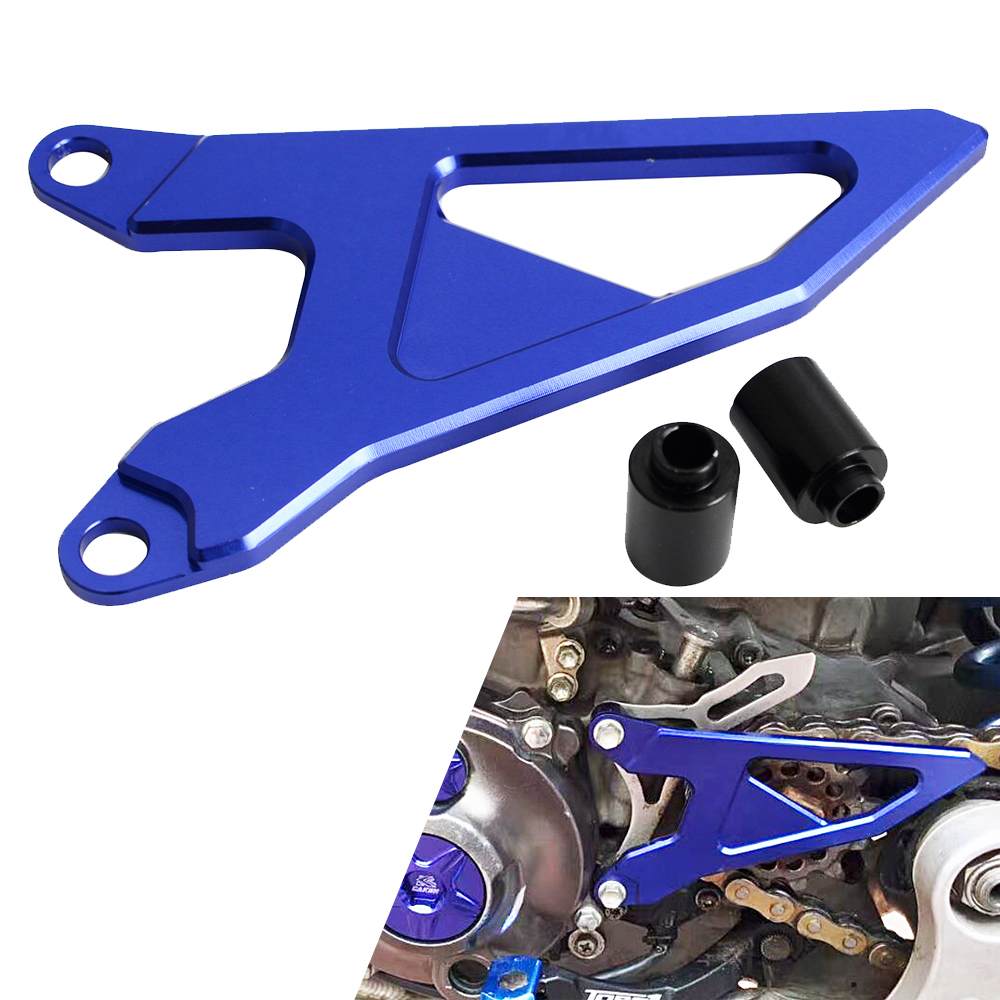 Motorcycle Engine Case Saver Protector CNC Aluminum For Yamaha YZ250F YZ450F 2014-2017 WR250F 2015-2016 WR450F 2016