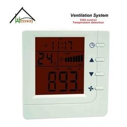 RS485 control Ventilation System co2 regulator for Room, pet room