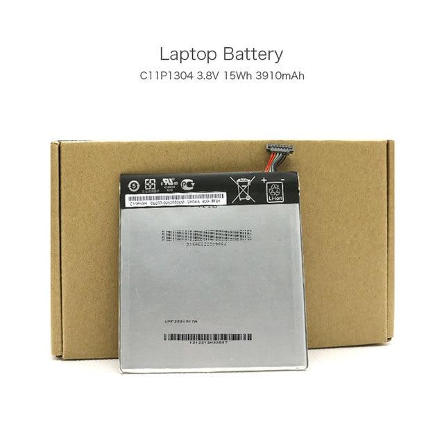Genuine 3.8V 15Wh 3910mAh C11P1304 Laptop Rechargeable Battery for ASUS K00B MEMO PAD HD 7 MeMO Pad HD 7 ME173X Computer