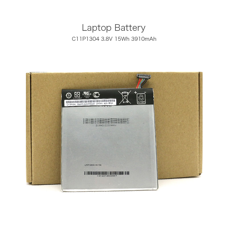 Genuine 3.8V 15Wh 3910mAh C11P1304 Laptop Rechargeable Battery for ASUS K00B MEMO PAD HD 7 MeMO Pad HD 7 ME173X Computer
