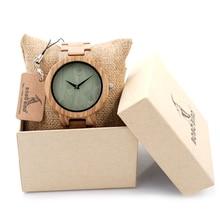 BOBO BIRD Men Wristwatches Wooden Band Japan Move 2035 Quartz Wood Watch for Men as Gifts