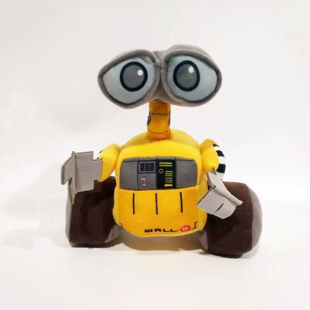 1 unids/lote 20 cm Pared de felpa. e robot edición muñeca juguetes para niños artículos de decoración regalo para niños