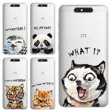 Case for ZTE Blade A521 A520 A330 A6 L7 Z MAX Z982 V8 V7 lite mini A910 A602 A610 A512 Cute soft silicon TPU Back Cover(China)