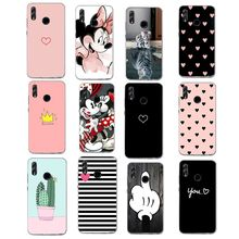 Cover for Huawei P Smart 2019 POT-LX3 POT-LX1 case Mate 10 20 P30 P20 lite Pro P10 P9 Lite Y6 2018 Soft TPU Silicon Case(China)
