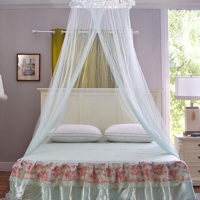 Spitze Vorhang Moskito Net Anti Insekt Baldachin Netting Für Doppel Bett  Tragbare Kinder Bett Baldachin Moskito