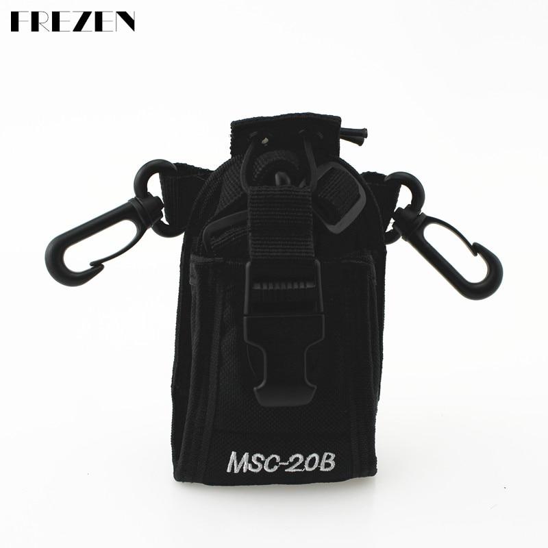 Baofeng Radio Case Holder MSC-20B XQF Portable For Icom Baofeng UV-5R TYT TH-F8+ Yaesu Vextex Radios